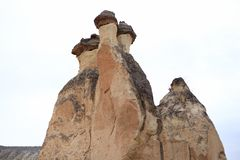 печные трубы cappadocia fairy Стоковые Фото