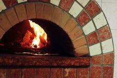 Печь ая древесиной Стоковые Фото