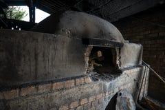 Печь ая древесиной Стоковые Фотографии RF