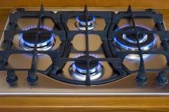 печь газа стоковое изображение rf