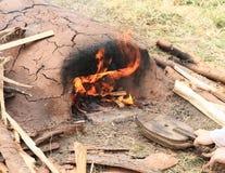 Печь глины Стоковые Фотографии RF