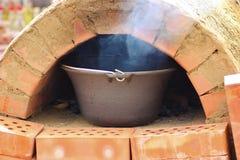 печь кирпича Стоковая Фотография
