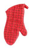 печь перчатки рождества Стоковая Фотография RF