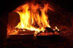 Печь пиццы стоковые фотографии rf