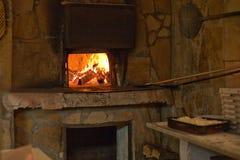 печь пожара Стоковые Фото