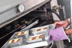 Печь плюшку Стоковое Фото