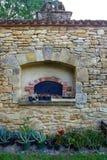 Печь старого стиля каменная, сельская местность Франции Стоковое Изображение RF