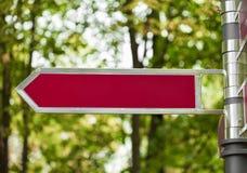 Пешеходная панель тропы Стоковая Фотография RF