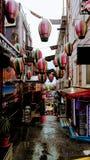 Пешеходная улица Стамбула стоковое фото rf