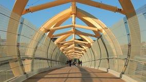 Пешеходный мост в Торонто, Онтарио акции видеоматериалы