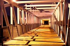 Пешеходный мост Стоковое Изображение RF