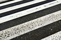Пешеходный переход Стоковые Фотографии RF
