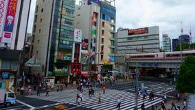 Пешеходный переход Ueno, Токио Япония стоковые изображения rf