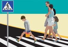 пешеходы Стоковые Фото