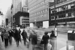 пешеходы Стоковые Изображения RF
