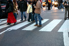 пешеходы Стоковые Изображения