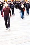 пешеход зоны Стоковые Изображения