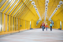 пешеход моста Стоковые Изображения RF