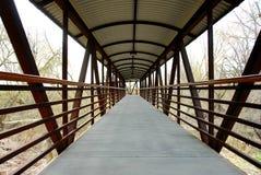 пешеход моста Стоковая Фотография