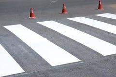 пешеход скрещивания Стоковые Фотографии RF