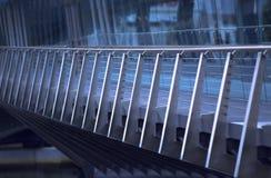 пешеход footbridge Стоковая Фотография RF