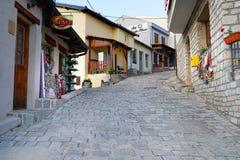 Пешеходная улица старого бара Стоковые Фото