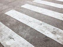 Пешеходный крест стоковое изображение