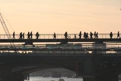 Пешеходный мост Стоковое Фото