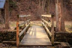 Пешеходный мост Стоковые Изображения