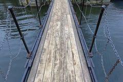 Пешеходный мост стоковое изображение
