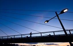Пешеходный мост Calatrava стоковые фото