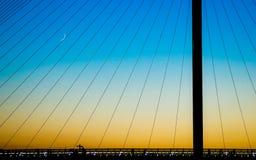 Пешеходный мост Calatrava стоковое фото