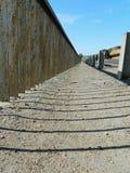 Пешеходный путь моста Стоковая Фотография