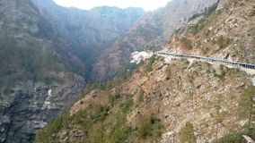 Пешеходный путь на холмах Trikuta Стоковое Изображение RF