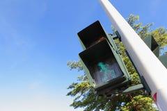 Пешеходный сигнал Стоковые Изображения RF