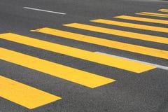 пешеход скрещивания Стоковая Фотография RF