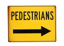 пешеходы Стоковое Фото