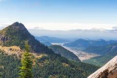 Пеший пик замка в национальном лесе Gifford Pinchot Стоковая Фотография