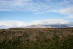 Пеший туризм в горах Исландии стоковое изображение rf