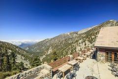 Пеший туризм в Mt След Baldy Стоковые Изображения