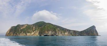 Пеший туризм и визирование видя на острове Guishan Стоковые Фото