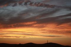 Пеший туризм на районе охраняемой природной территории Дон Edwards San Francisco Bay национальном стоковая фотография rf