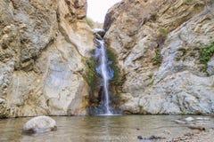 Пеший туризм на следе падений каньона Eaton Стоковая Фотография RF