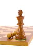 пешка короля Стоковое фото RF