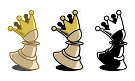 пешка короля бесплатная иллюстрация