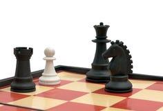 пешка метафоры игры disempowerment как раз их Стоковое Изображение