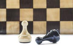 Пешки шахмат Стоковая Фотография