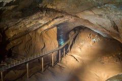Пещера в абхазии Стоковые Фотографии RF