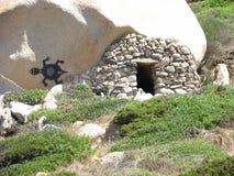 Пещера в Италии Стоковое Изображение
