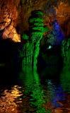Пещера в Китае Стоковые Фото